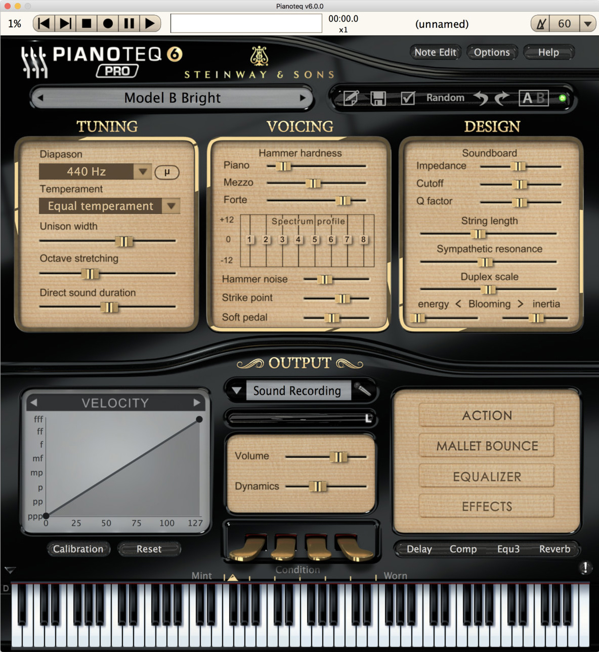 Pianoteq Pro 6 WIN/MAC Download Version